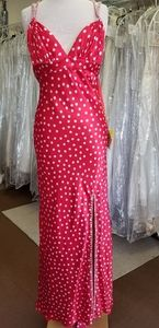 Mori Lee Polka Dot Retro Dress